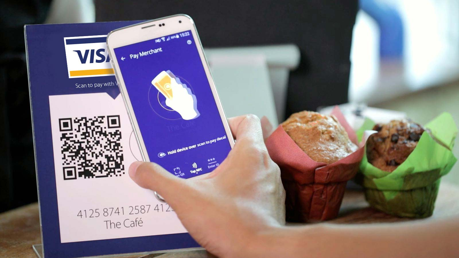 Use scan to pay in stores