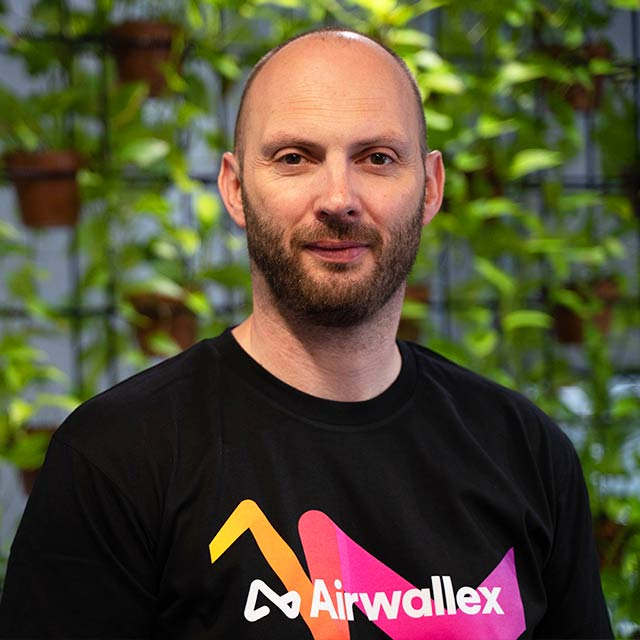 Airwallex Vice President of Engineering, Craig Rees.